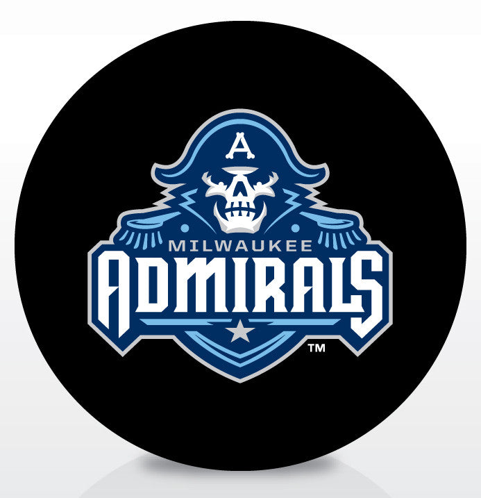 Milwaukee Admirals Official Souvenir Puck