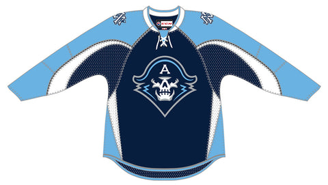 CCM Milwaukee Admirals Customized Premier Navy Jersey