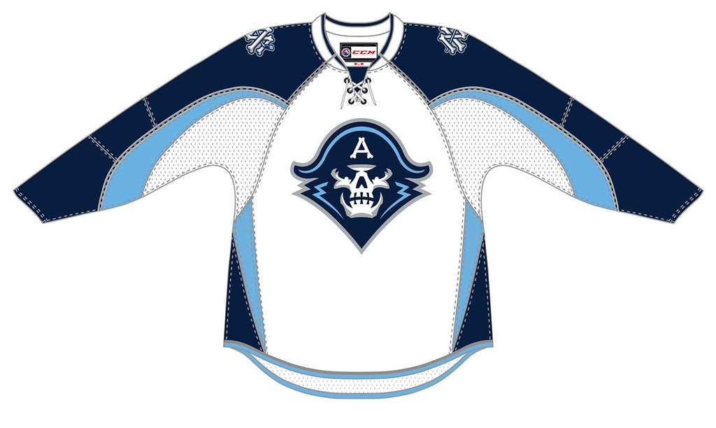 CCM Edge Milwaukee Admirals Customized Premier White Jersey