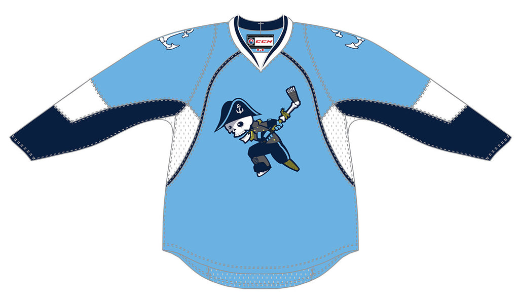 CCM Milwaukee Admirals Premier Third Jersey (Light Blue)