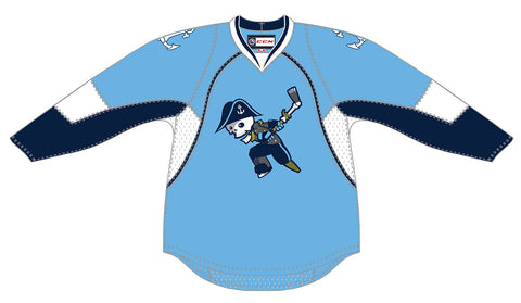 CCM Milwaukee Admirals Customized Premier Third Jersey (Light Blue)