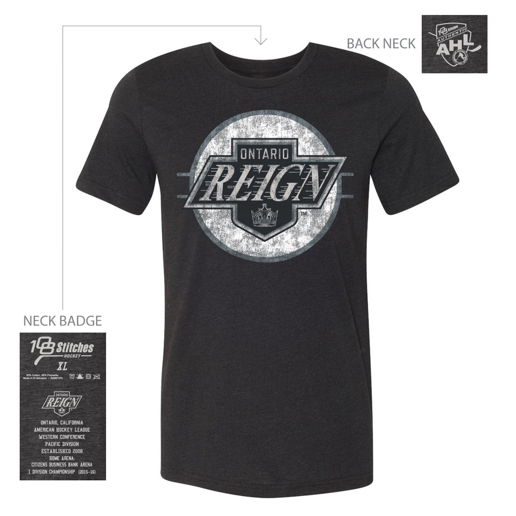 108 Stitches Ontario Reign Adult Circle T-Shirt