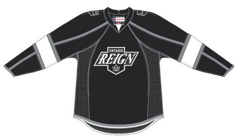 Reebok-CCM Ontario Reign Customized Premier Away Jersey