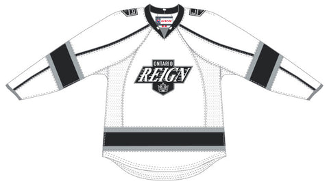 CCM Ontario Reign Customized Premier White Jersey
