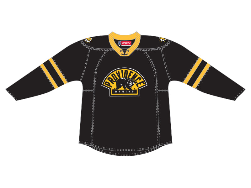 CCM Quicklite Providence Bruins Customized Premier Black Jersey
