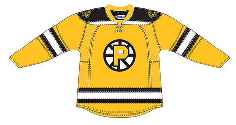 CCM Providence Bruins Customized Premier Yellow Jersey