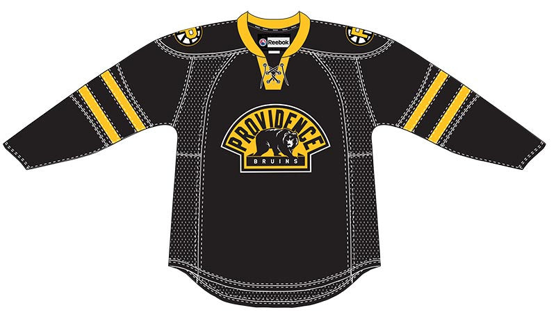 CCM Providence Bruins Customized Premier Black Jersey
