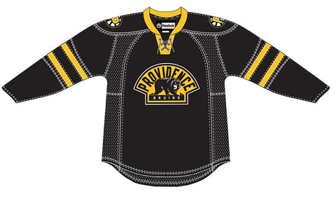 8e00a1d6bfd CCM Providence Bruins Customized Premier Black Jersey
