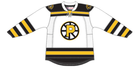 CCM Providence Bruins Customized Premier White Jersey