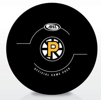 Providence Bruins New Look Official Game Puck