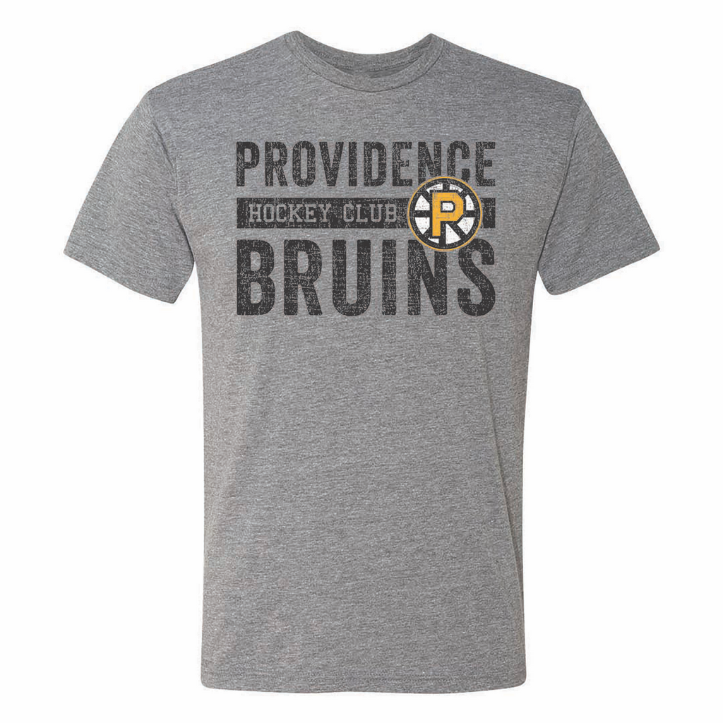 108 Stitches Providence Bruins Hockey Club Adult Short Sleeve T-Shirt