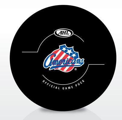 Rochester Americans New Look Official Game Puck