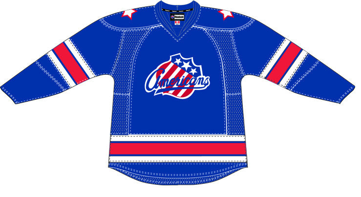 CCM Edge Rochester Americans Customized Premier Blue Jersey