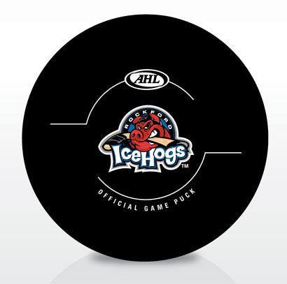 Rockford IceHogs New Look Official Game Puck