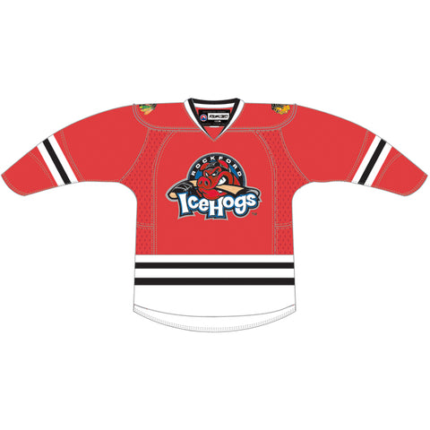 CCM Rockford IceHogs Customized Premier Red Jersey