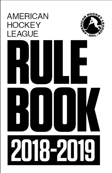 2018-19 AHL Offical Rulebook