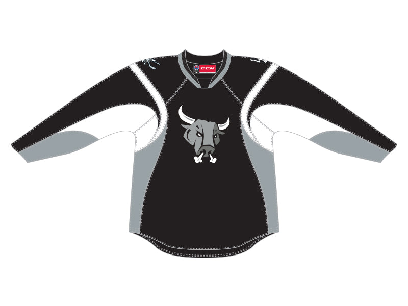 CCM Quicklite San Antonio Rampage Customized Premier Black Jersey