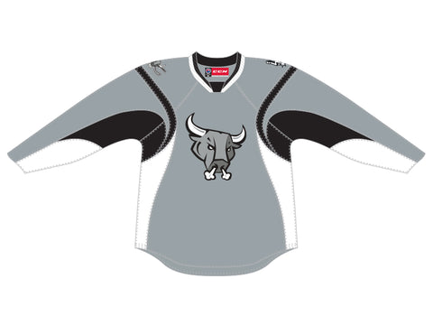 CCM Quicklite San Antonio Rampage Customized Premier Gray Jersey