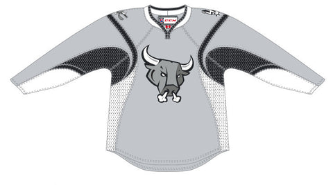 CCM San Antonio Rampage Customized Third Premier Jersey (Grey)