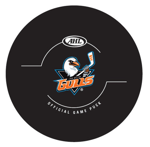 San Diego Gulls Official Game Puck