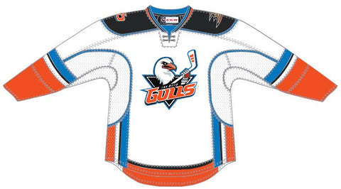 CCM San Diego Gulls Customized Premier White Jersey