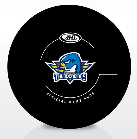 Springfield Thunderbirds Official Game Puck
