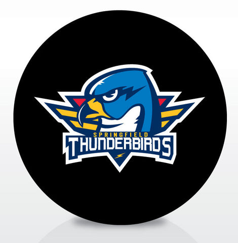 Springfield Thunderbirds Official Souvenir Puck