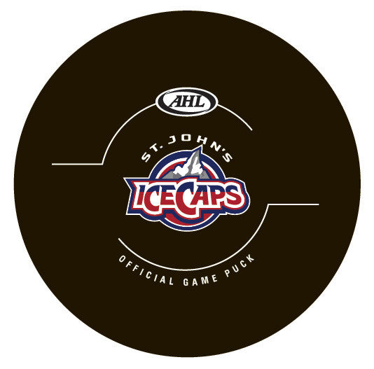 St. John's IceCaps Official Game Puck (2015-16)