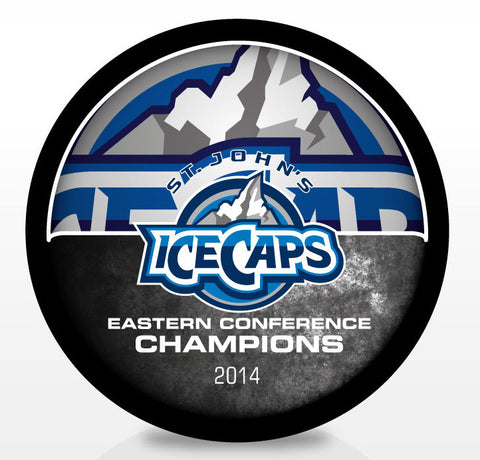 St. John's IceCaps 2014 Eastern Conference Champions Souvenir Puck
