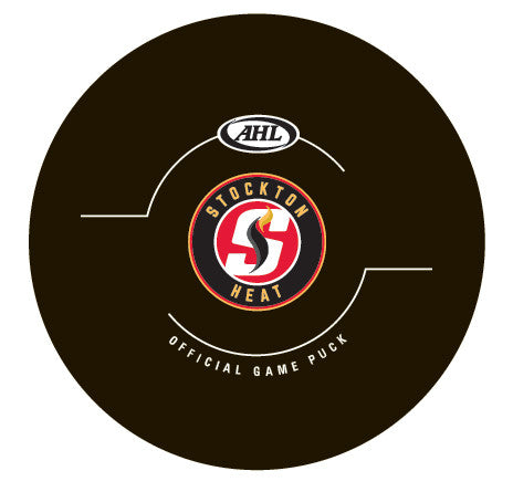 Stockton Heat Official Game Puck