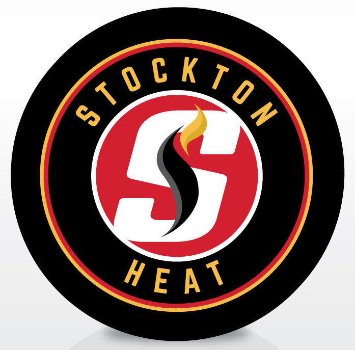 Stockton Heat Official Souvenir Puck