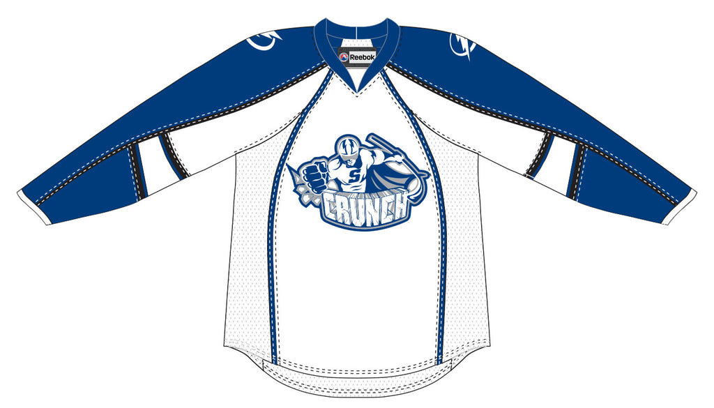 Reebok-CCM Syracuse Crunch Customized Premier White Jersey
