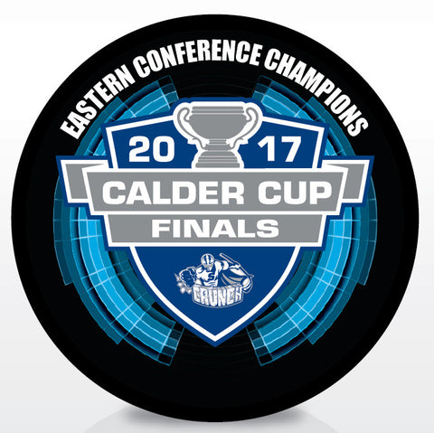 Syracuse Crunch 2017 Eastern Conference Champions Souvenir Puck