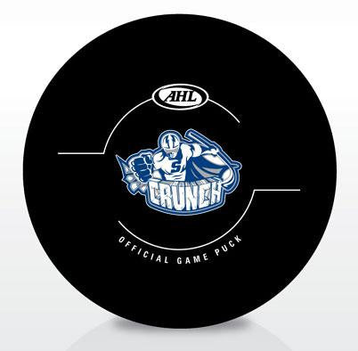 Syracuse Crunch Official Game Puck