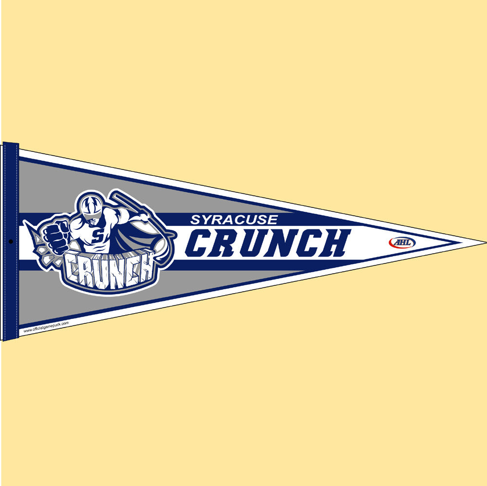 Syracuse Crunch Team Pennant