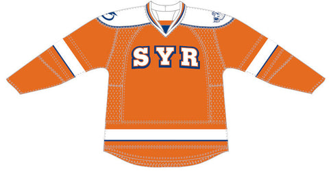 Reebok-CCM Syracuse Crunch Customized Premier Third Jersey (orange version)