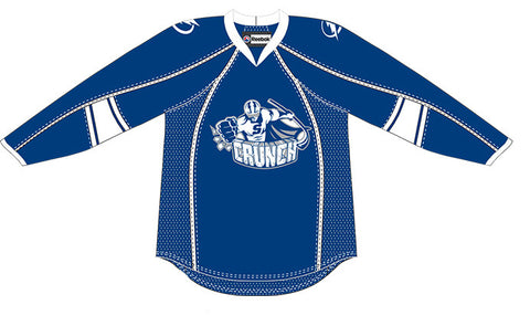 Reebok-CCM Syracuse Crunch Customized Premier Blue Jersey