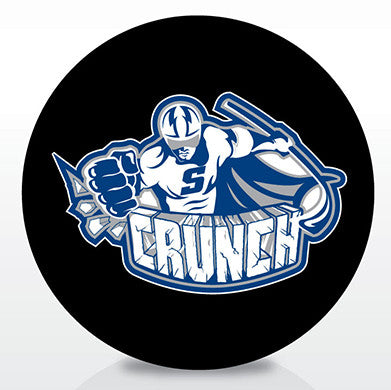 Syracuse Crunch Team Logo Souvenir Puck