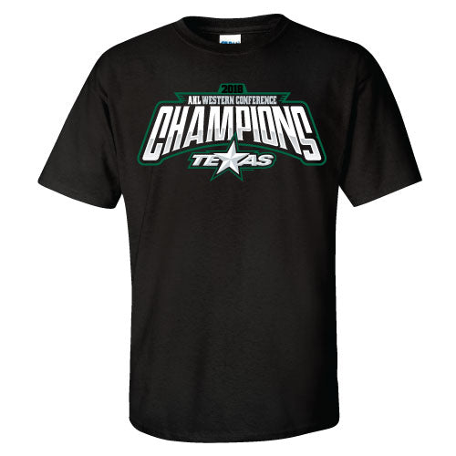 Texas Stars 2018 Western Conference Champions T-Shirt