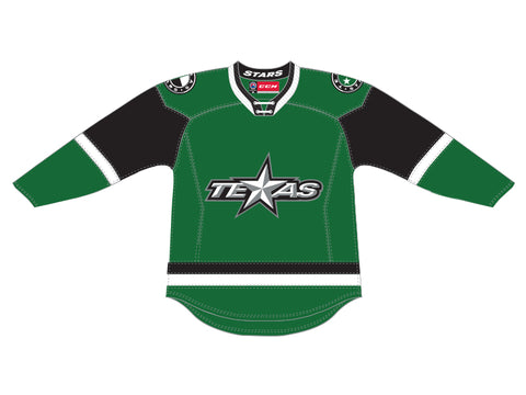 CCM Quicklite Texas Stars Customized Premier Green Jersey