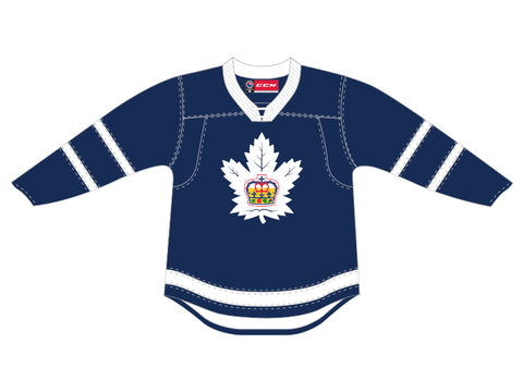 CCM Quicklite Toronto Marlies Customized Premier Blue Jersey
