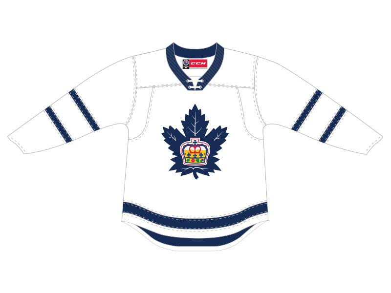 CCM Quicklite Toronto Marlies Customized Premier White Jersey