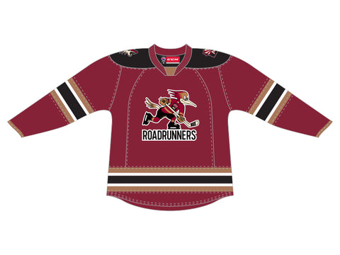 CCM Quicklite Tucson Roadrunners Customized Premier Maroon Jersey