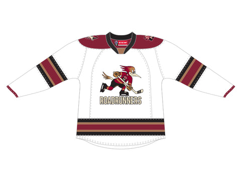 CCM Quicklite Tucson Roadrunners Customized Premier White Jersey