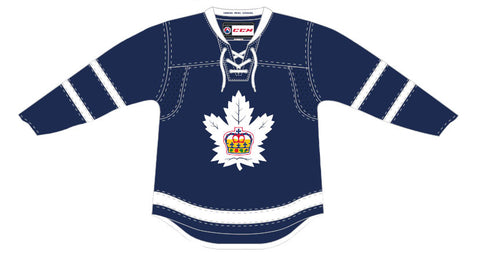 CCM Toronto Marlies Customized Premier Blue Jersey