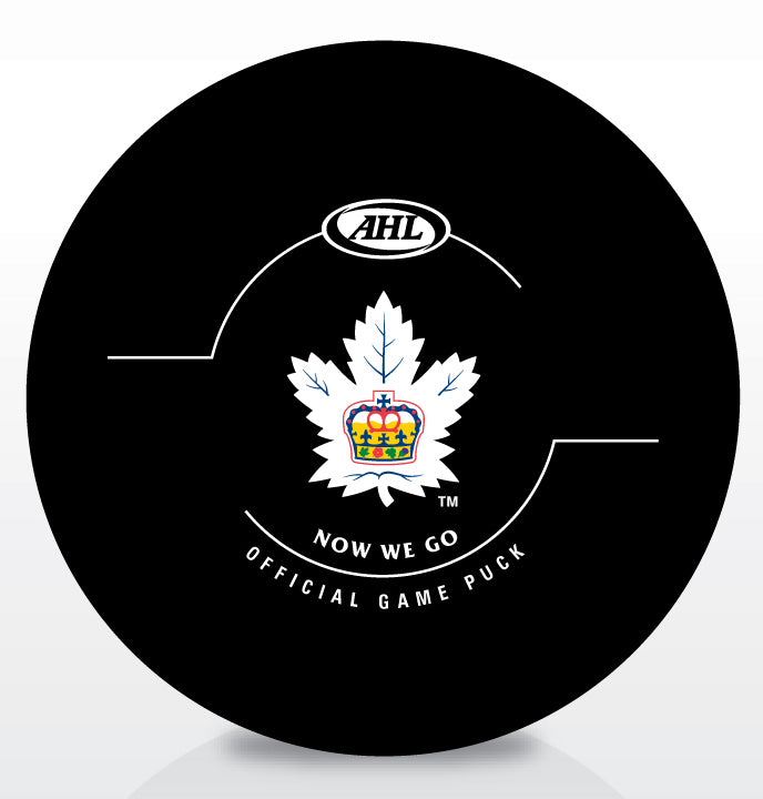 Toronto Marlies 2016 Eastern Conference Finals Official Game Puck