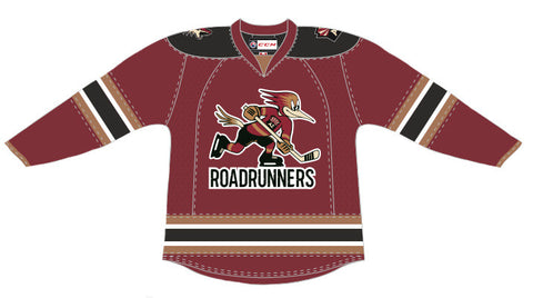 CCM Tucson Roadrunners Customized Premier Dark Jersey