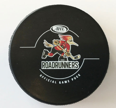 Tucson Roadrunners Official Game Puck