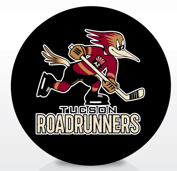 Tucson Roadrunners Official Souvenir Puck