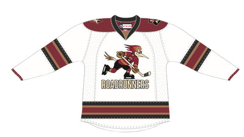 CCM Tucson Roadrunners Customized Premier White Jersey